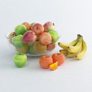 3d max fruit