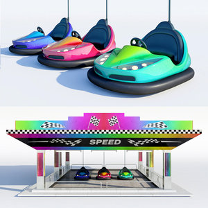 3d bumper bump car model