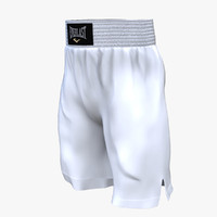 Boxing White Short