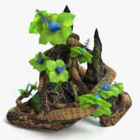 3ds fantasy plant