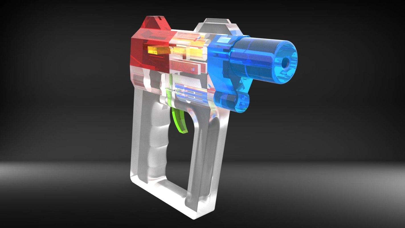 new working gun vik-1 3d 3ds