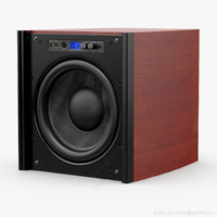 3d model subwoofer 12 velodyne dd-12
