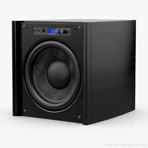 subwoofer 12 velodyne dd-12 3d model