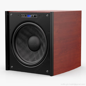 subwoofer 18 velodyne dd-18 3d model