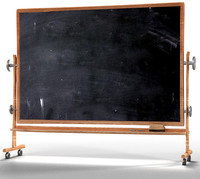cartoonie blackboard 3d obj
