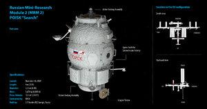 iss module poisk mrm-2 3d model