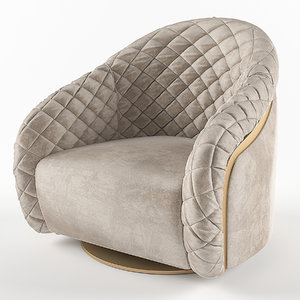 cantori portofino armchair 3d max