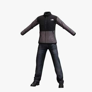 3d mens clothing 13 model
