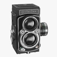 rolleiflex 2 8 fx 3d model
