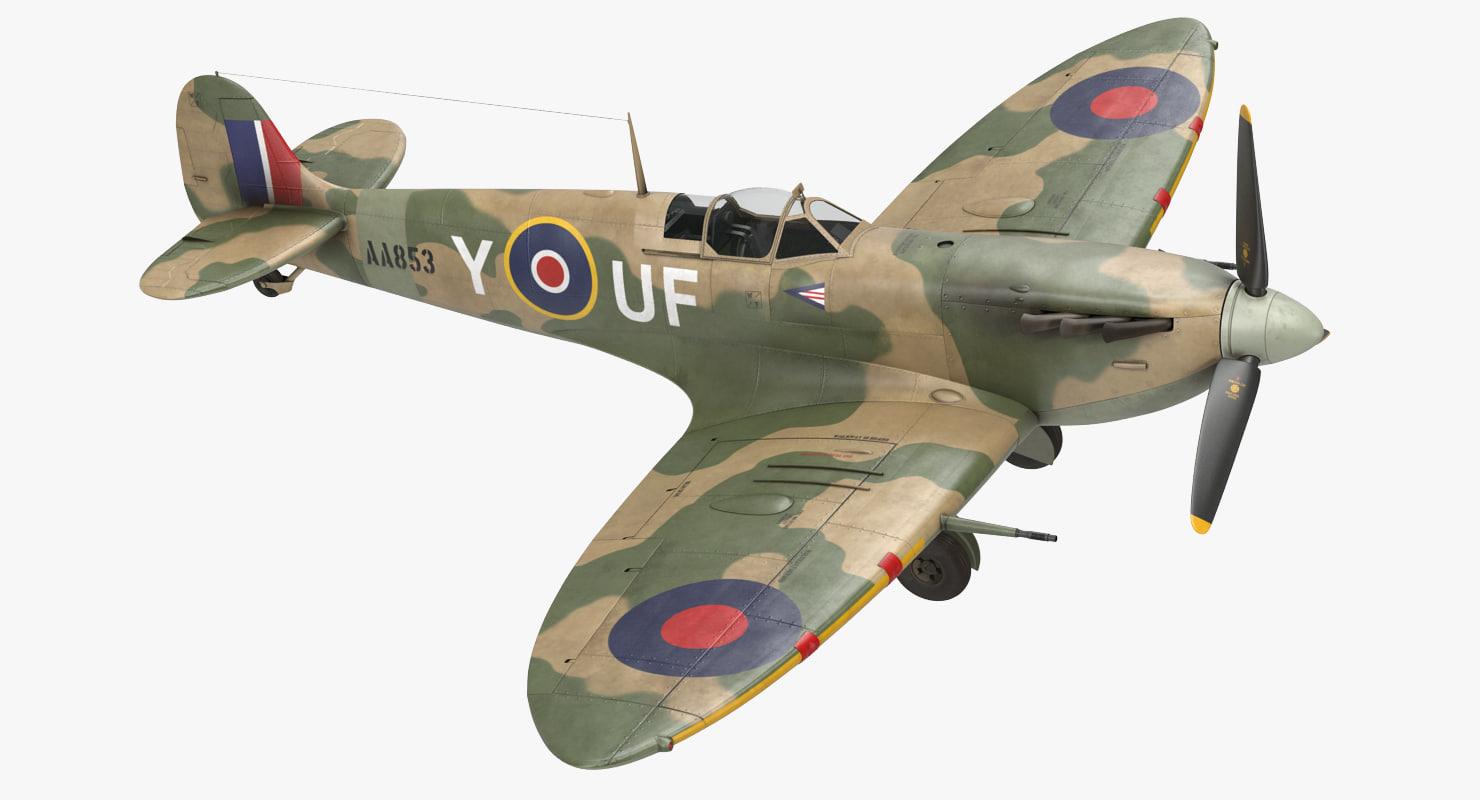 max supermarine spitfire