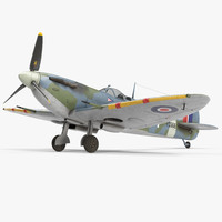british wwii fighter aircraft 3d 3ds