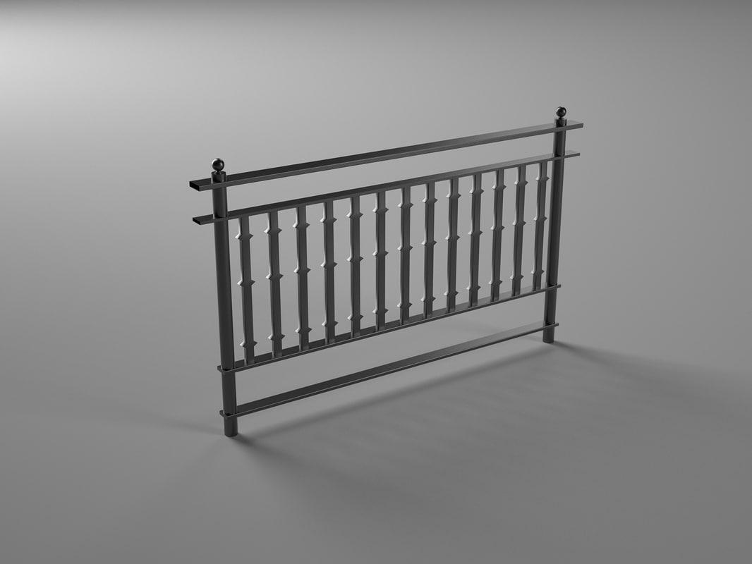 3d fence generic london model