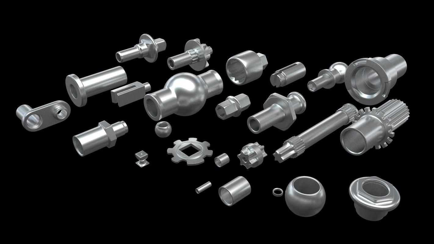 max aluminum parts