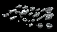 Aluminum Parts/Bults Kit