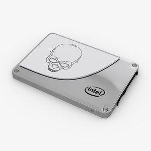 intel 730 ssd 3d model