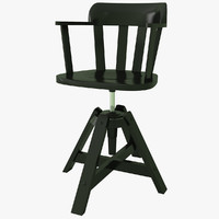 3d model feodor chair ikea