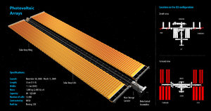 c4d iss photovoltaic array