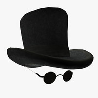 Top Hat and eyewear