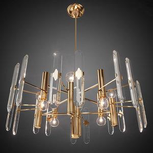 chandelier sciolari lamps 3d obj
