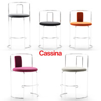 3d model chairs cassina
