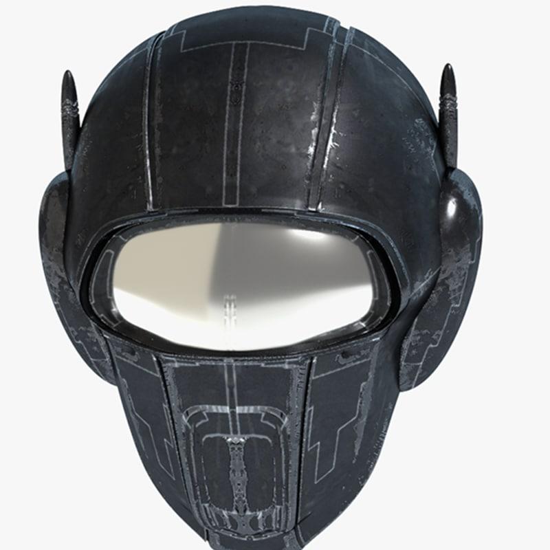 max science fiction helmet