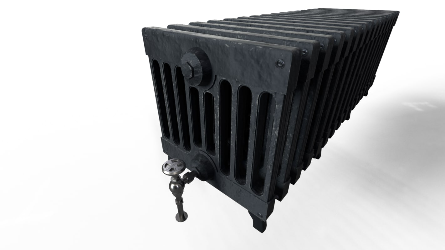 3d radiator victorian cast