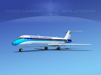dc-9-30 dc-9 3ds