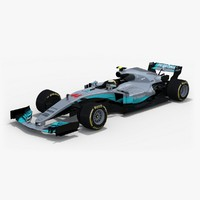 Mercedes W08 EQ Power+ Season 2017