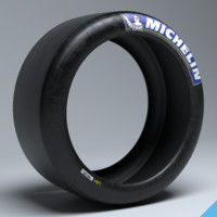 3d michelin race slick