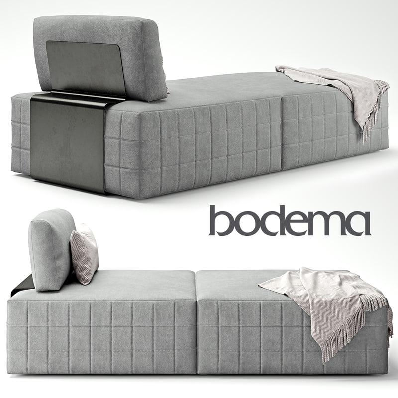 modena shanghai sofa interior 3d model