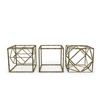 geometric decor objects - 3ds