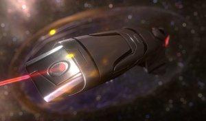 3d model rigged version spaceship design