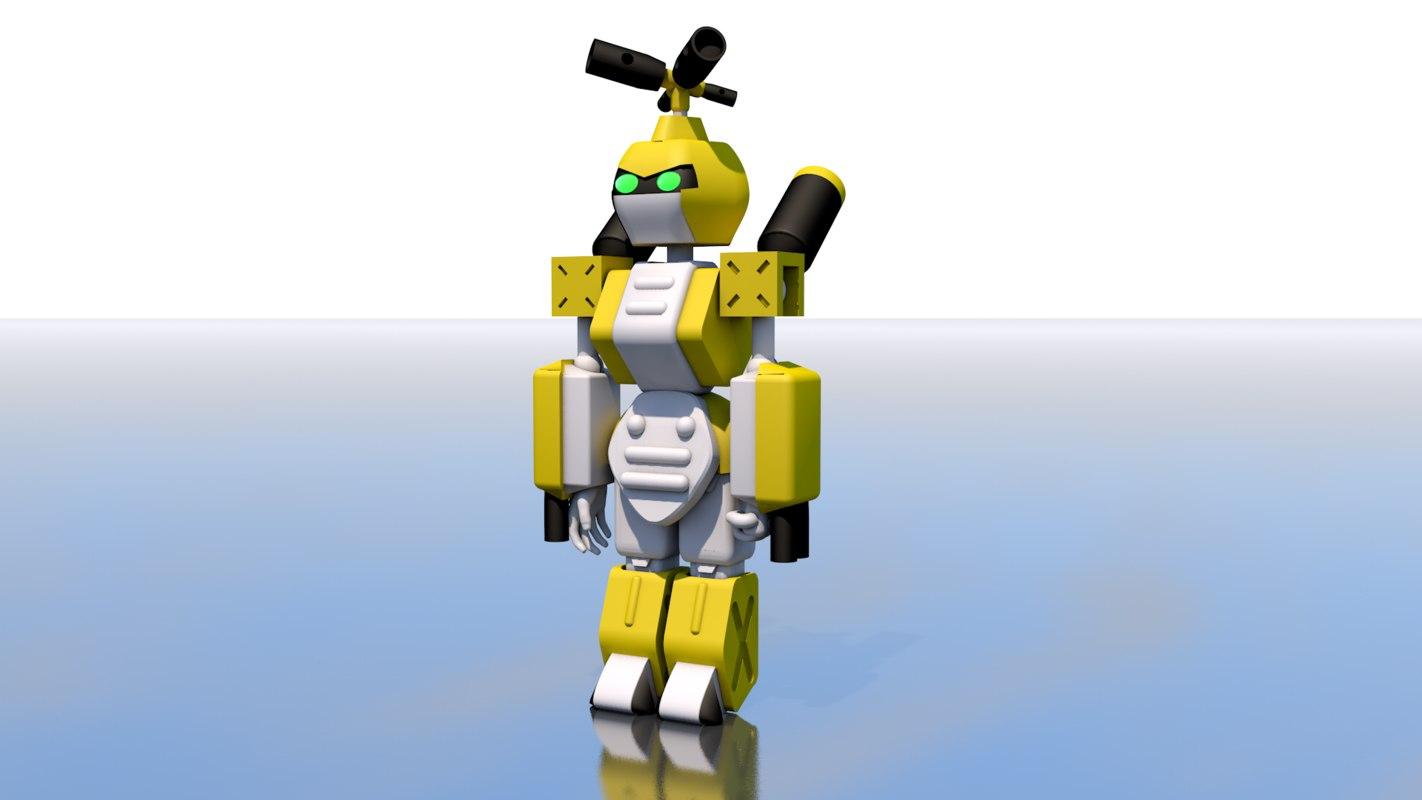 c4d metabee robot