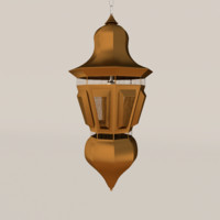 obj lamp bronze