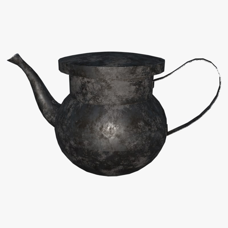 ma antique kettle