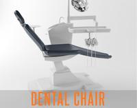 dental chair dentist 3d 3ds