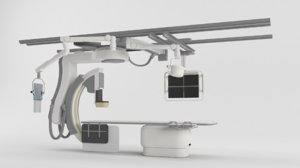 3d model angiography machine