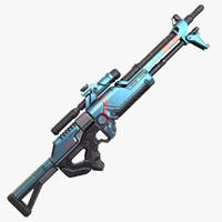 max sci-fi gun