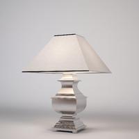 eichholtz hamilton lamp 3d 3ds