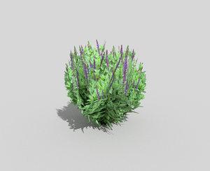 tropical shrub 3ds