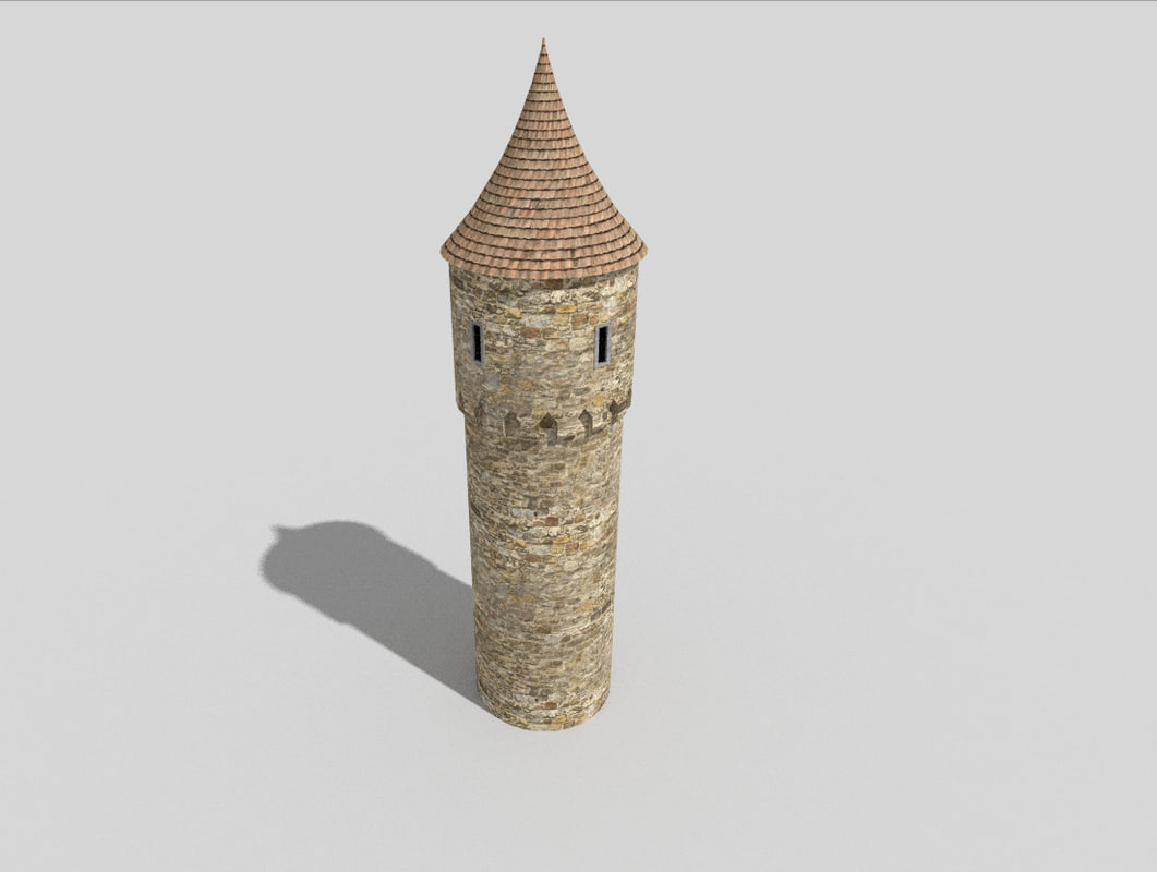 medieval tower 3ds
