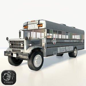 nites prison bus 3d 3ds