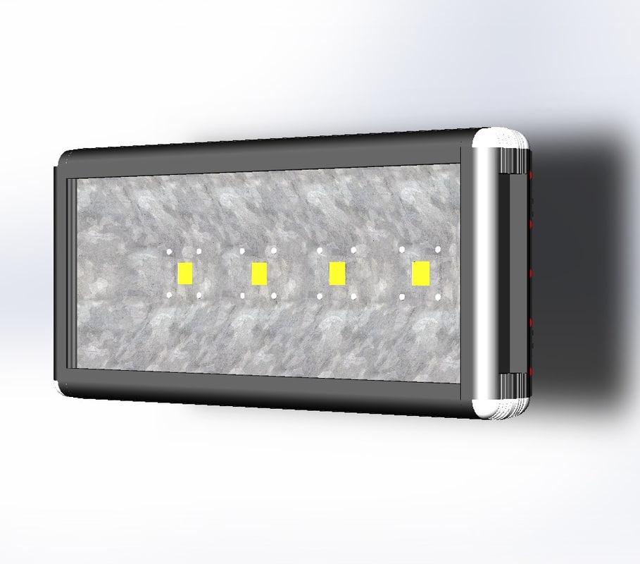 100w led light 3d 3ds