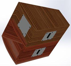 3d louspeaker model