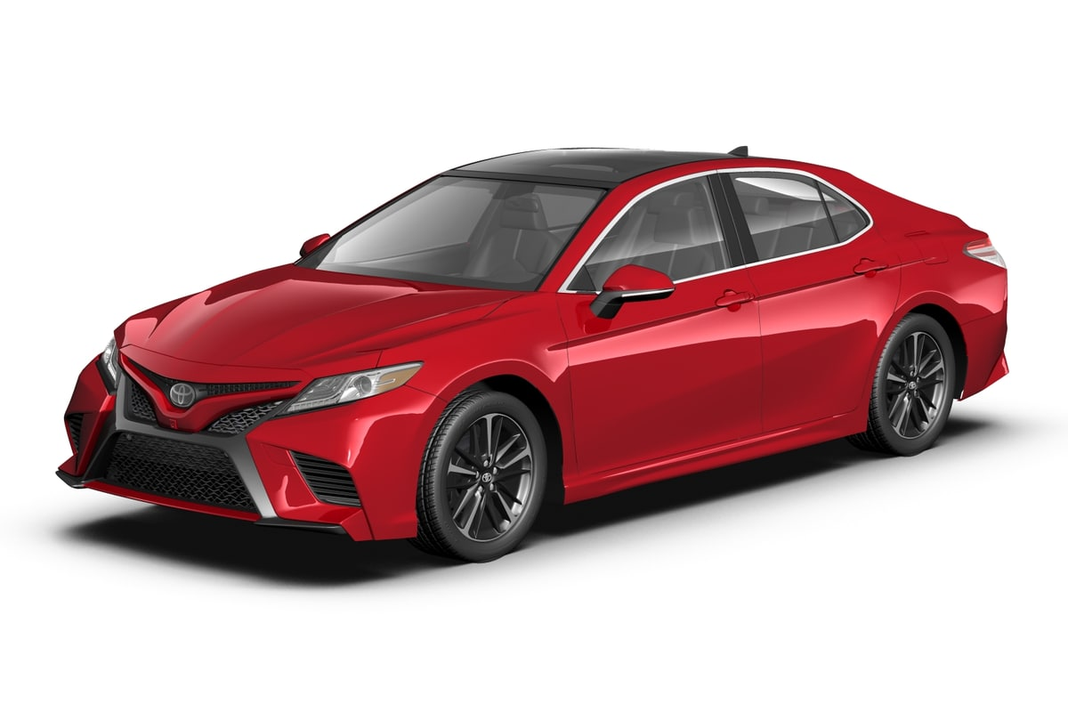 toyota 2018 camry 3d max