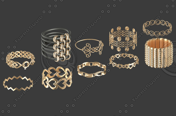 3d accessories model
