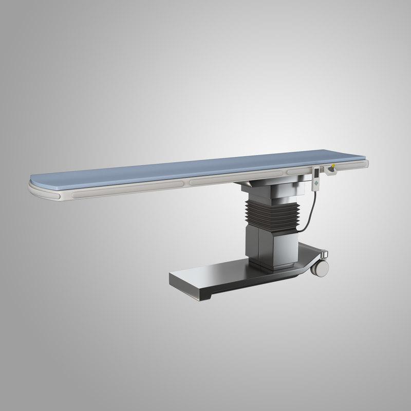 pain management table 3d model