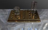 3d bar tray
