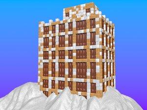 max building sugar cubes