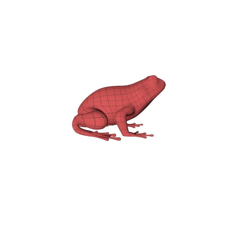 base mesh frog obj